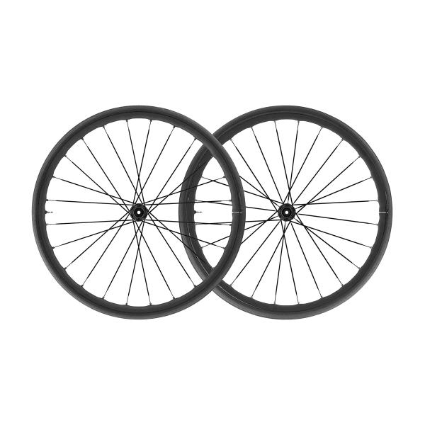 Ksyrium Elite UST Disc 28 Zoll Laufradsatz - Schwarz
