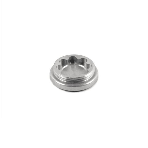 Bohrungsdeckel für X2 Bremssattel - Silber