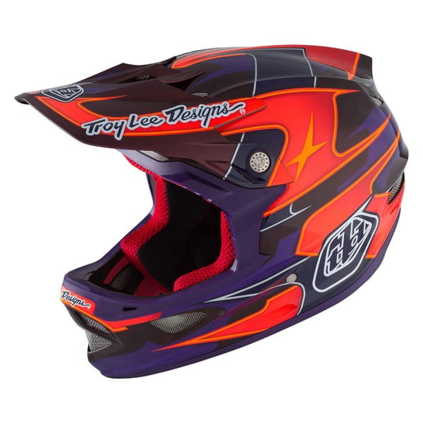 D3 Carbon MIPS Fullface Helm Render Purple