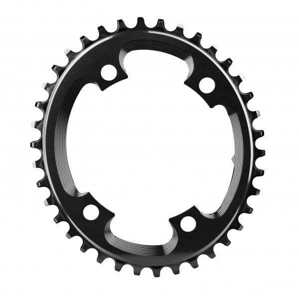Cyclocross Kettenblatt - Oval - 110 BCD 4-loch - schwarz