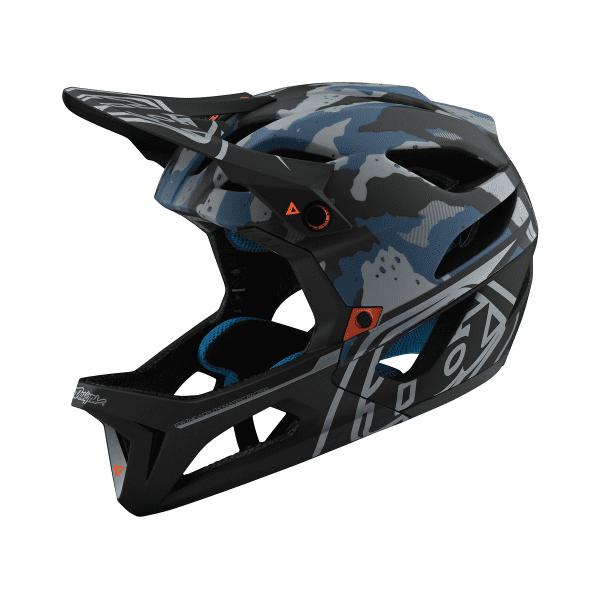 Stage Helmet (MIPS) STEALTH Fullface-Helm - Camo Blau
