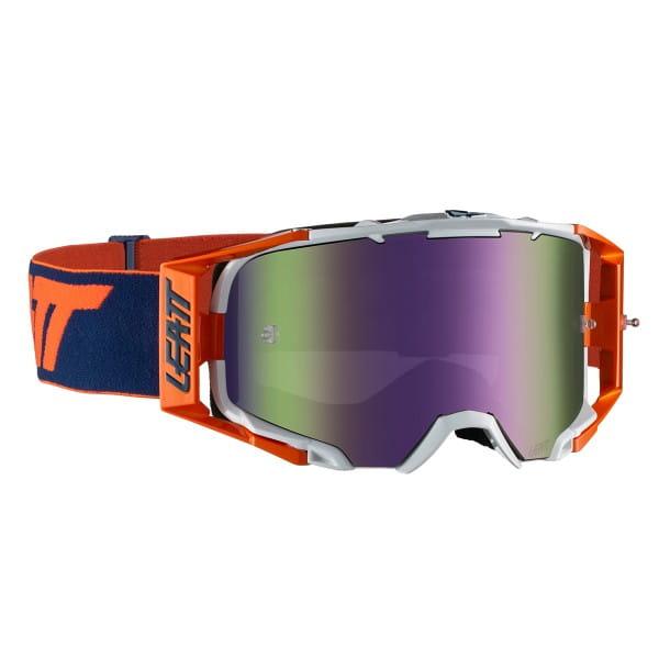 Velocity 6.5 Iriz Goggle Anti Fog Mirror Lens - Orange