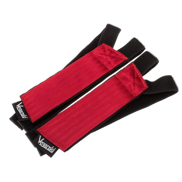 Freestyle Pedal Straps - red