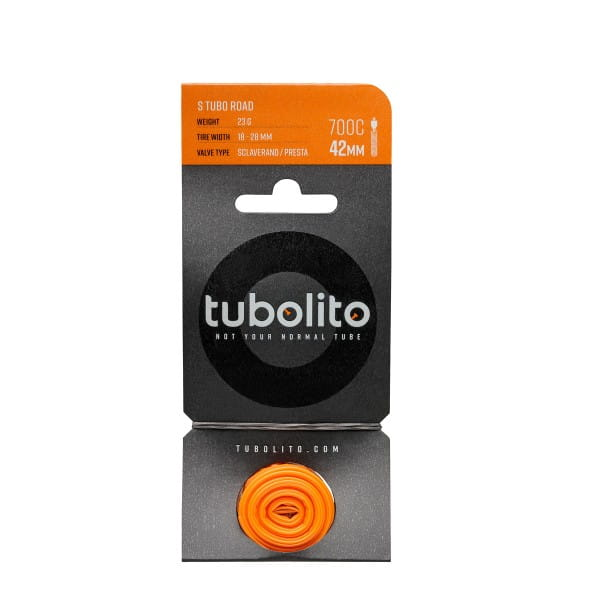 S-Tubo Road 28 Zoll Schlauch - SV 42mm