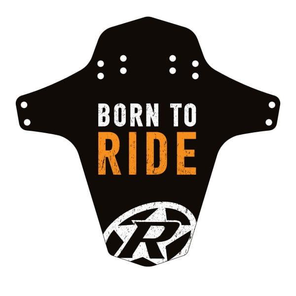 Born to Ride Mudfender - Schwarz/Foxorange