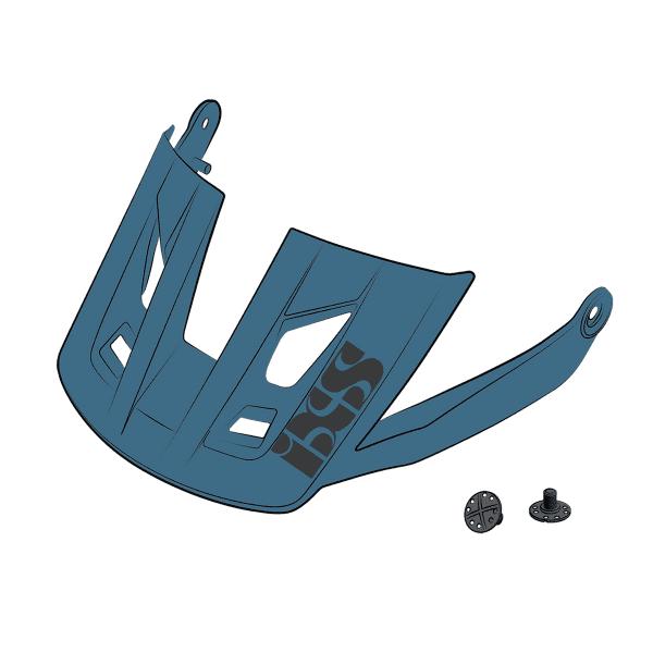Ersatz Visier + Pins für Trigger AM - Hellblau