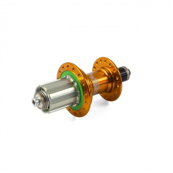 RS4 Road Hinterradnabe QR 10x130mm - orange