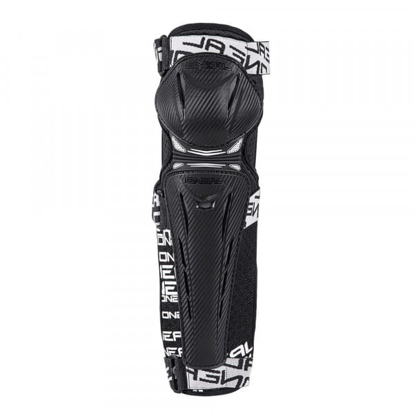 Trail FR Carbon Look Knee Guard - black/white