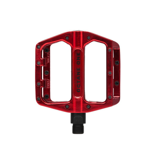Static Flat Pedal - Red
