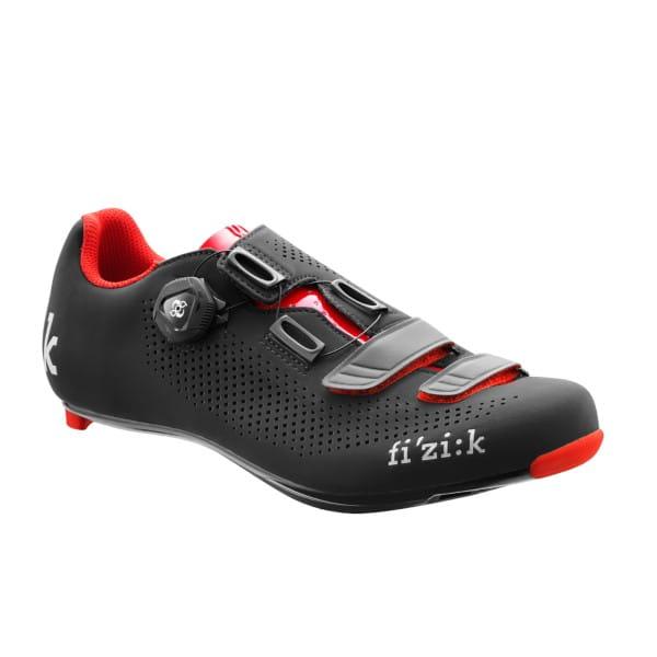 R4B Uomo Schuhe - Schwarz/Rot