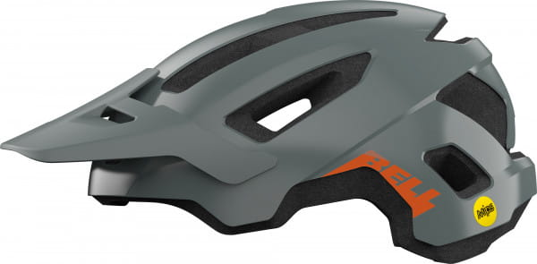 Nomad Bike Helmet - Gray / Orange