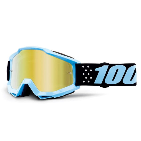 Accuri Youth Goggles Anti Fog Mirror Lens - Taichi