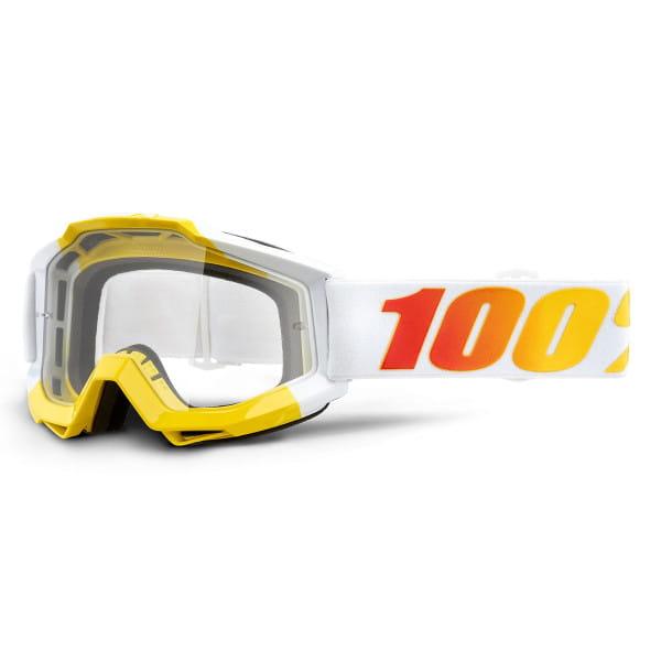 Accuri Goggles Anti Fog Clear Lens - Weiß/Gelb