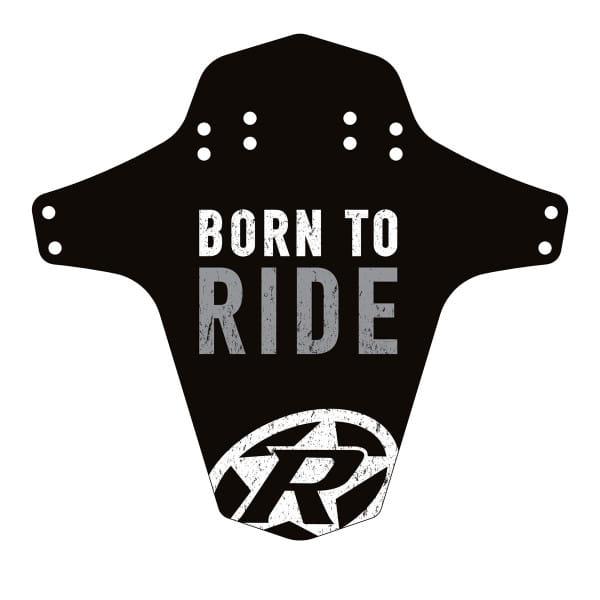 Born to Ride Mudfender - Schwarz/Grau