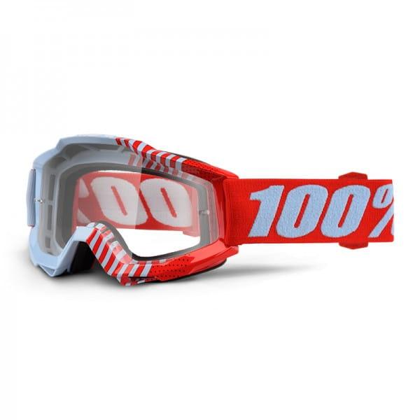 Accuri Goggle Anti Fog Clear Lens - Cupcoy