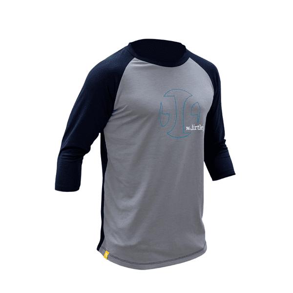 Mountee Herrentrikot - Blau/Grau