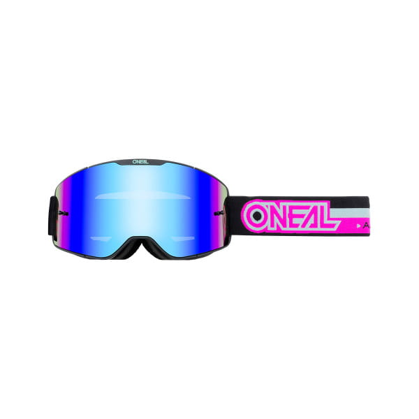 B-20 Proxy - Radium Blau - Goggle - Schwarz/Pink
