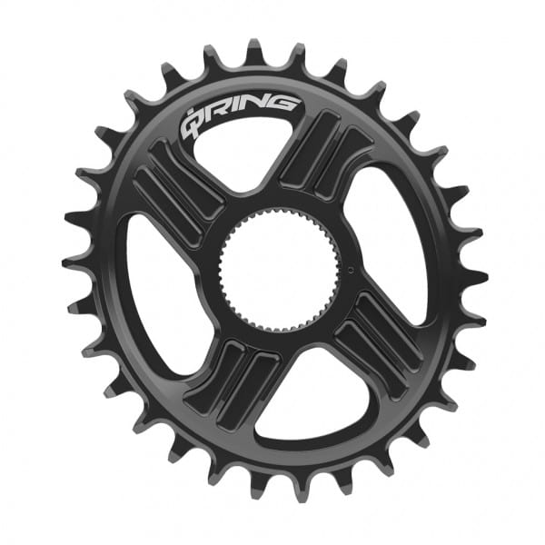 QX1 Q-Ring Kettenblatt - für RRaptor/RHawk Kurbel - Direct Mount - schwarz