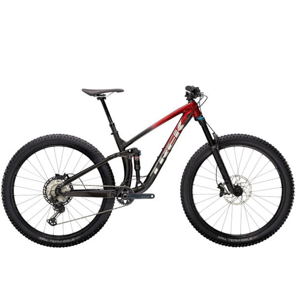 Fuel EX 8 XT - Rage Red to Dnister Black Fade