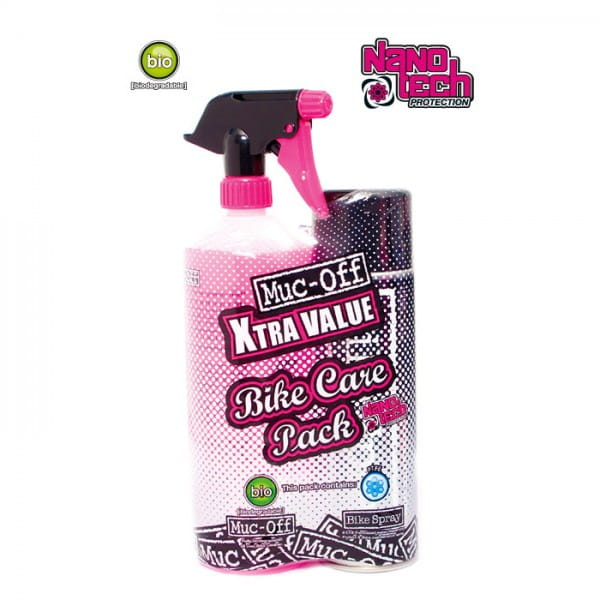 X-Tra Value Duo Pack Pflegeset - Bike Spray + Cleaner