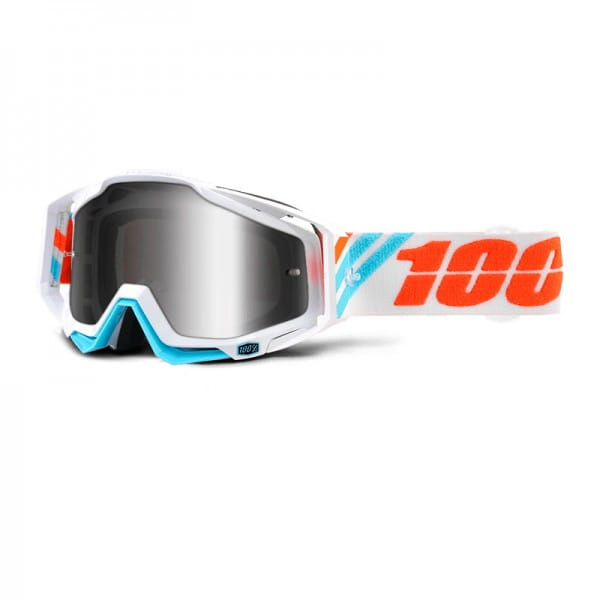 Racecraft Goggle Anti Fog Mirror Lens - Calculus Ice
