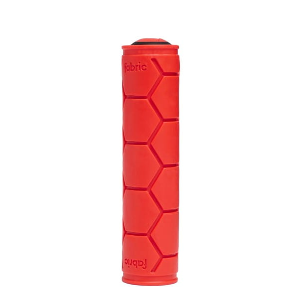 Silicone slip on grip - red
