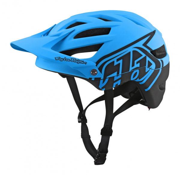 A1 Helm Mips - Blau/Schwarz