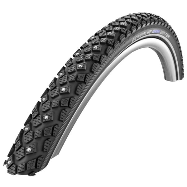 Winter Clincher Tire - 16x1.20 Inch - K-Guard - Reflex - black