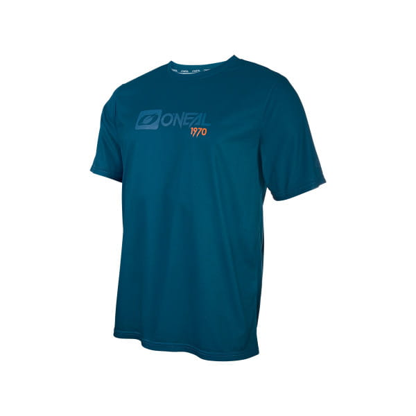 Slickrock - Kurzarm Trikot - Blau/Orange