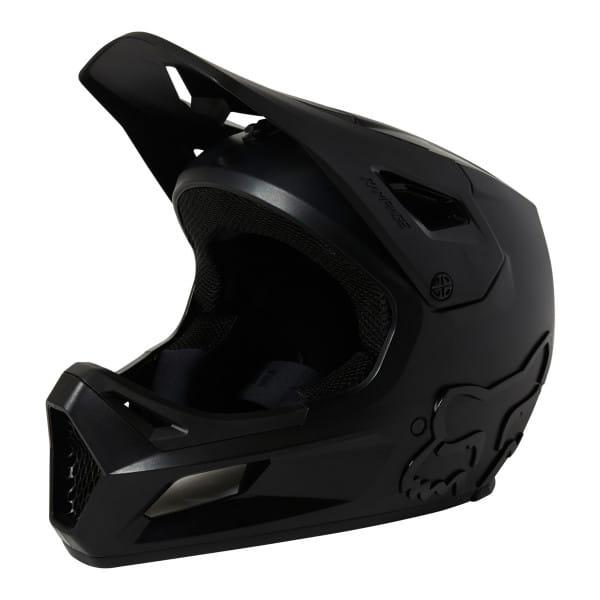 Rampage CE - Fullface Helm - Schwarz/Schwarz