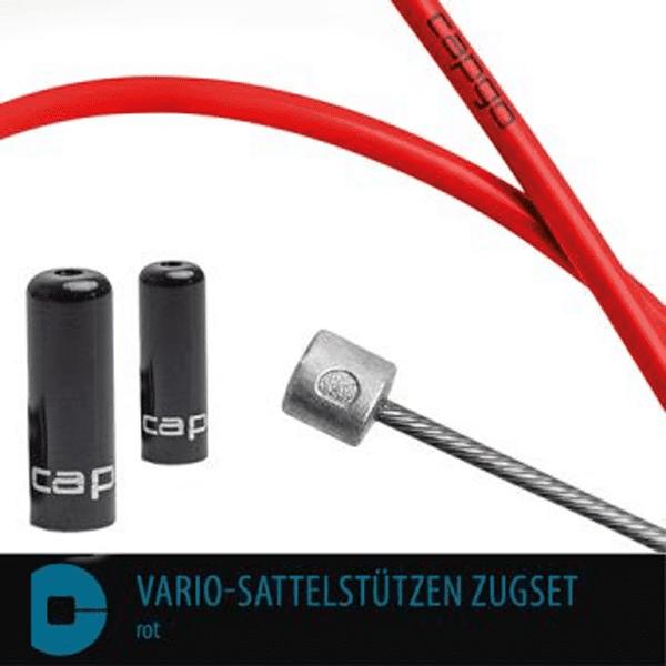 BL Vario-Sattelstützen Zugset - Rot