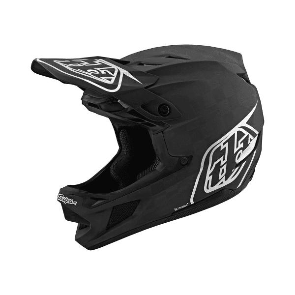 D4 Helmet (Mips) Carbon Fullface-Helm - STEALTH Schwarz/Silber