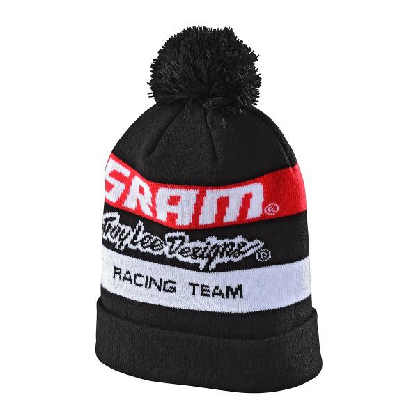 SRAM Racing POM Beanie - Schwarz