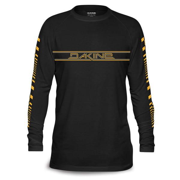Stingray - Langarm Tech T-Shirt - Schwarz