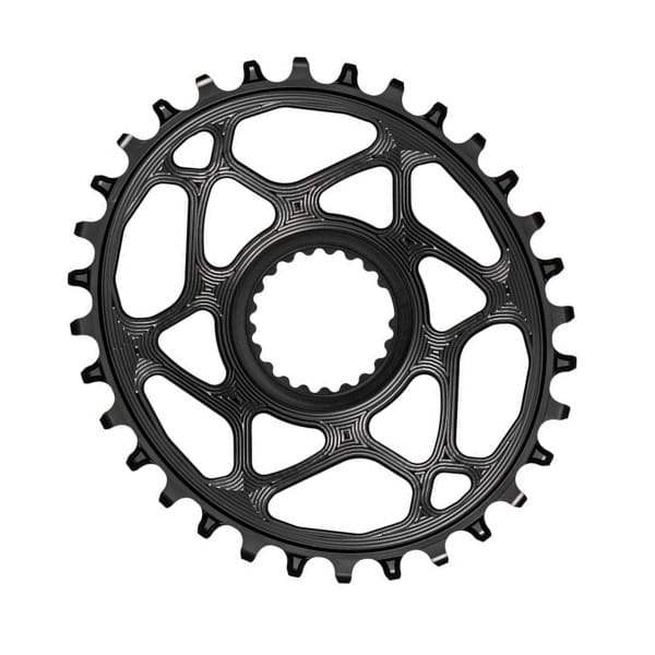 Chainring Oval for XTR M9100 - Black