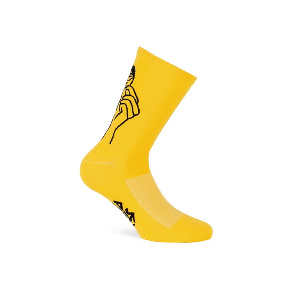 Socken Road Rebels - Gelb