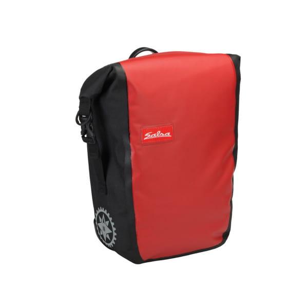 Touring Einzelpacktasche 14 L - Schwarz/Rot