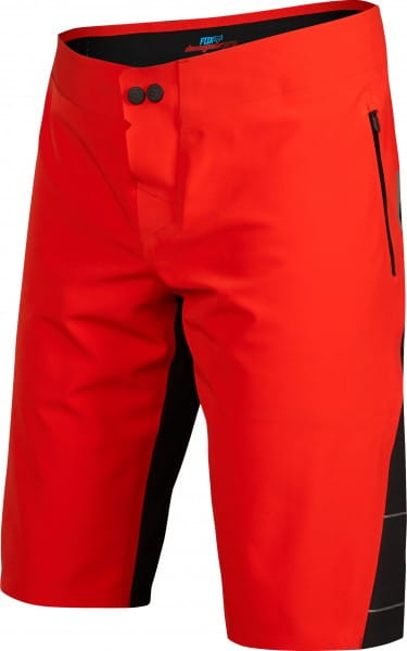 Downpour Short - Red Black