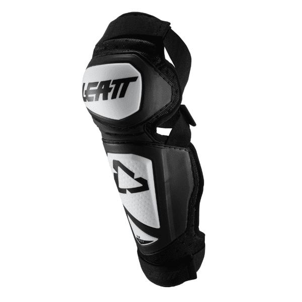 Knie-Schienbeinprotektor 3DF Hybrid EXT - Weiß