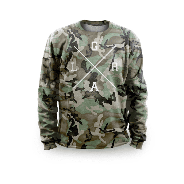 Pullover - Forest Camo