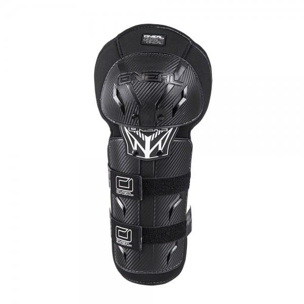 Pro III Carbon Look Knee Guard - black
