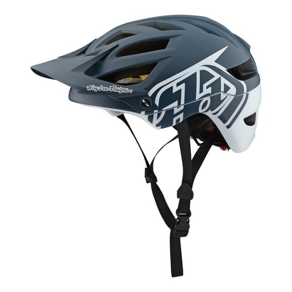 A1 Classic Mips Helm - Grau/Weiß
