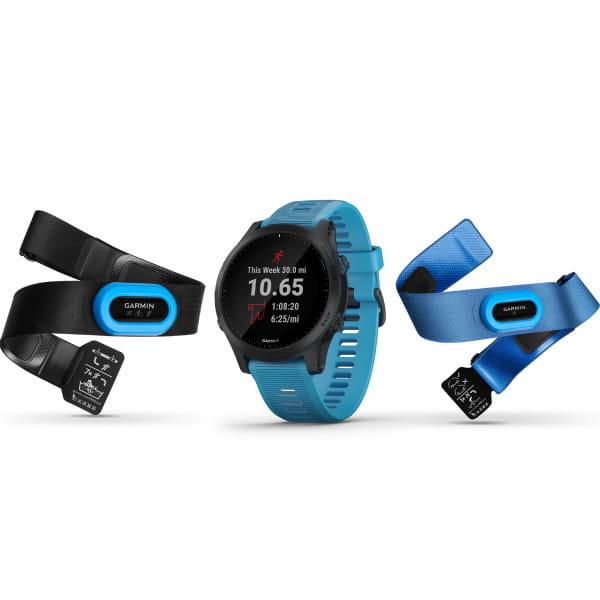 Forerunner 945 - GPS-Armbanduhr - Triathlon Bundle