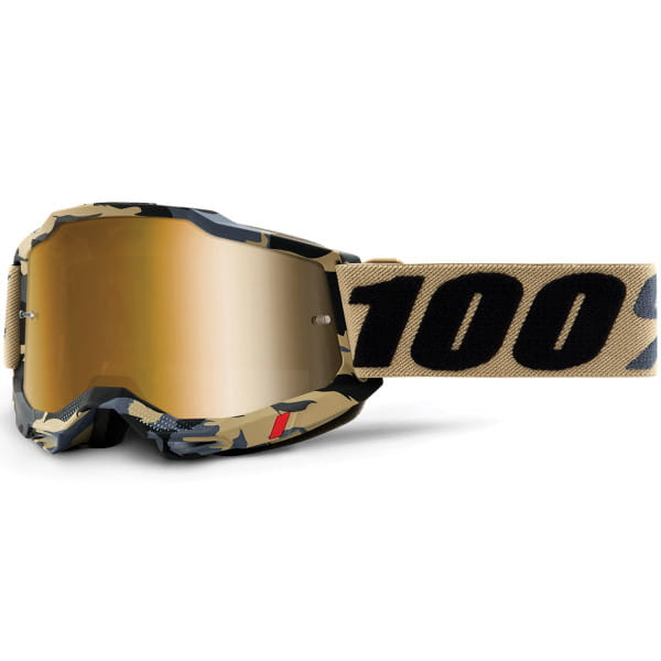 Accuri Gen.2 Anti Fog Mirror Brille - Gold/Camo