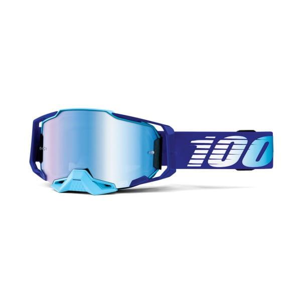 Armega Goggle Anti Fog - Blau/Hellblau - verspiegelt