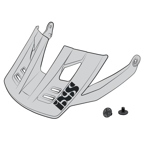 Ersatz Visier + Pins für Trigger FF - Weiß