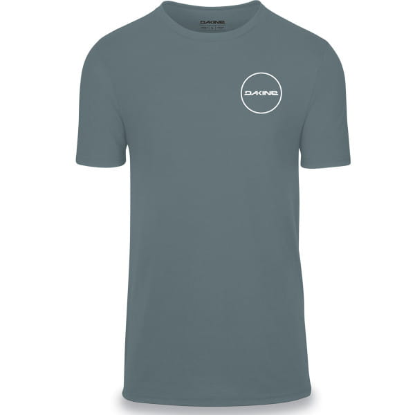 Team Player - Kurzarm Tech T-Shirt - Lead Blau