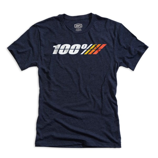 Motorrad Jugend T-Shirt - Marineblau