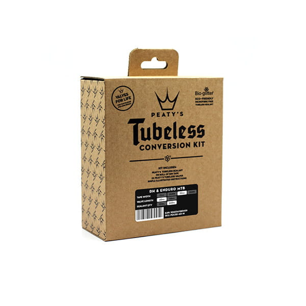 Tubeless Conversion Kit für Cross Country/Urban