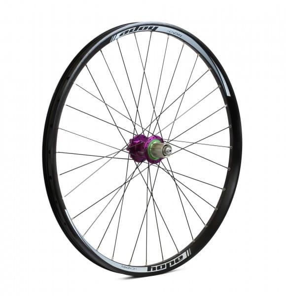 Tech DH-Pro 4 Hinterrad - purple